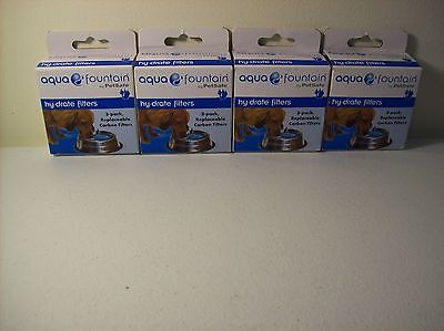 4 PetSafe Drinkwell hy·drate Hydrate Replacement Filters 4 3 Packs PAC00-15146