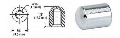 Chrome Plated Nut for Rod Display System