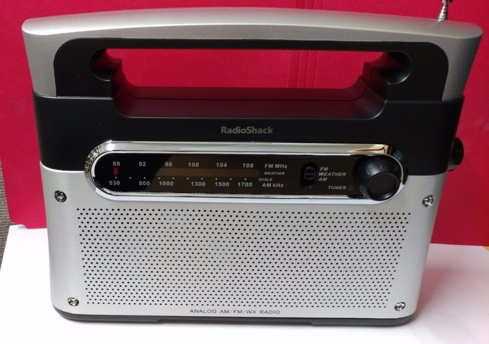 radio shack am fm radios for sale classifieds. Black Bedroom Furniture Sets. Home Design Ideas