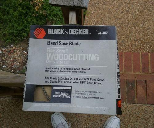 1 NEW BLACK & DECKER 74-482 BAND SAW BLADE 52-3/4