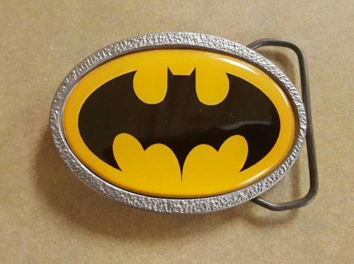 BATMAN SUPERHERO METAL BELT BUCKLE
