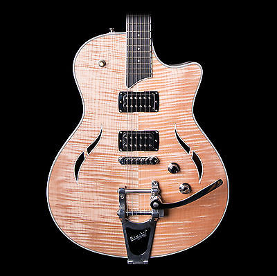 Taylor T3 Semi-Hollow Electric Guitar w/ Bigsby, Natural w/ Case