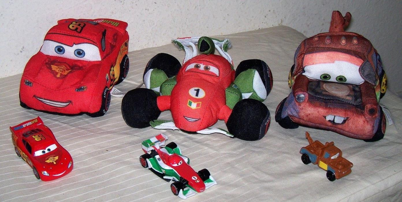 Lot 3 Pixar CARS 5.5