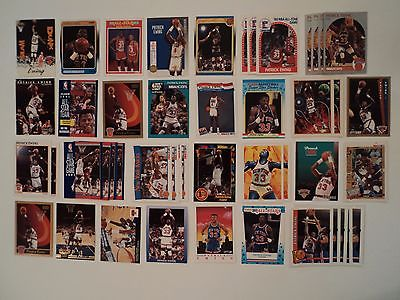 Lot Of 80 Patrick Ewing New York Knicks NBA Basketball Cards