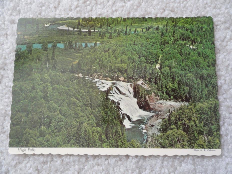 High Falls on the Magpie River near Wawa, Canada    Postcard