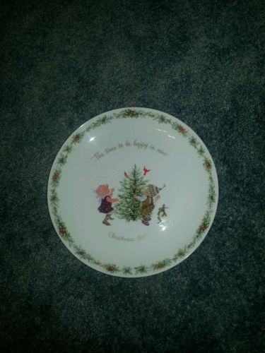 Holly hobbies collectable plate