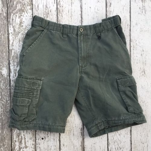 Boy Scouts of America Khaki Green Uniform Shorts Youth 16