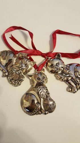 Gorham christmas ornaments