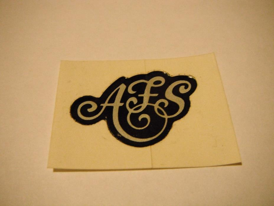 Vintage NOS Arctic Cat AFS Decal 0611-594