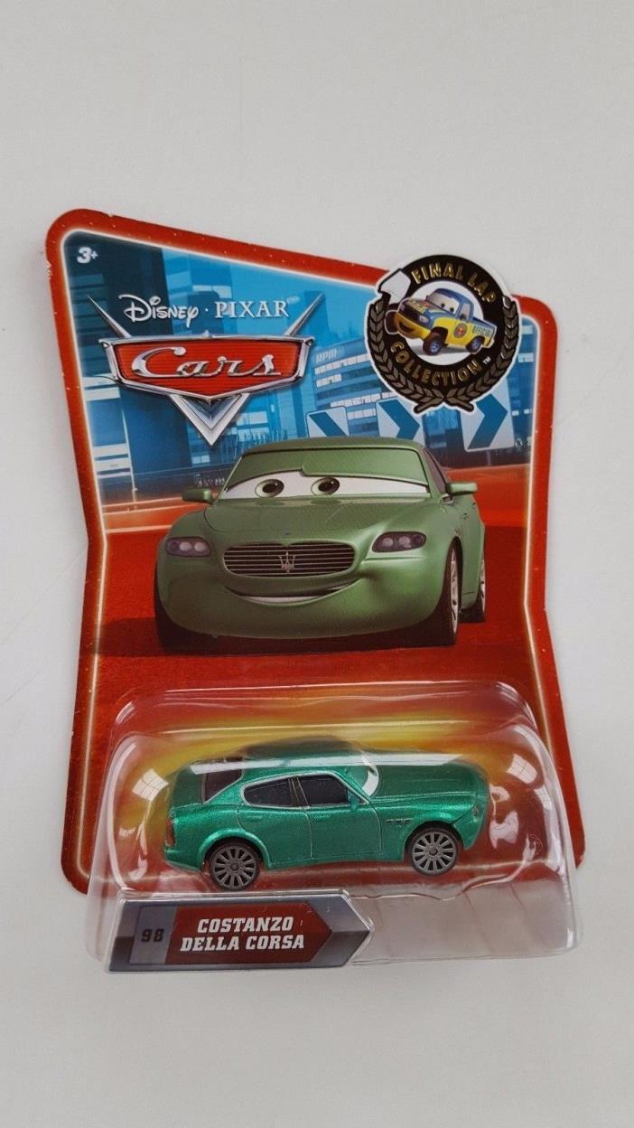 BRAND NEW DISNEY PIXAR CARS FINAL LAP COLLECTION COSTANZO DELLA CORSA MISB!!!!!!