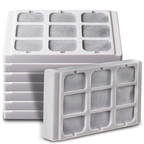 Replacement Water Filters for 3 in 1 Pet Fountain Food Bowl for Dogs & Cats-8 pk