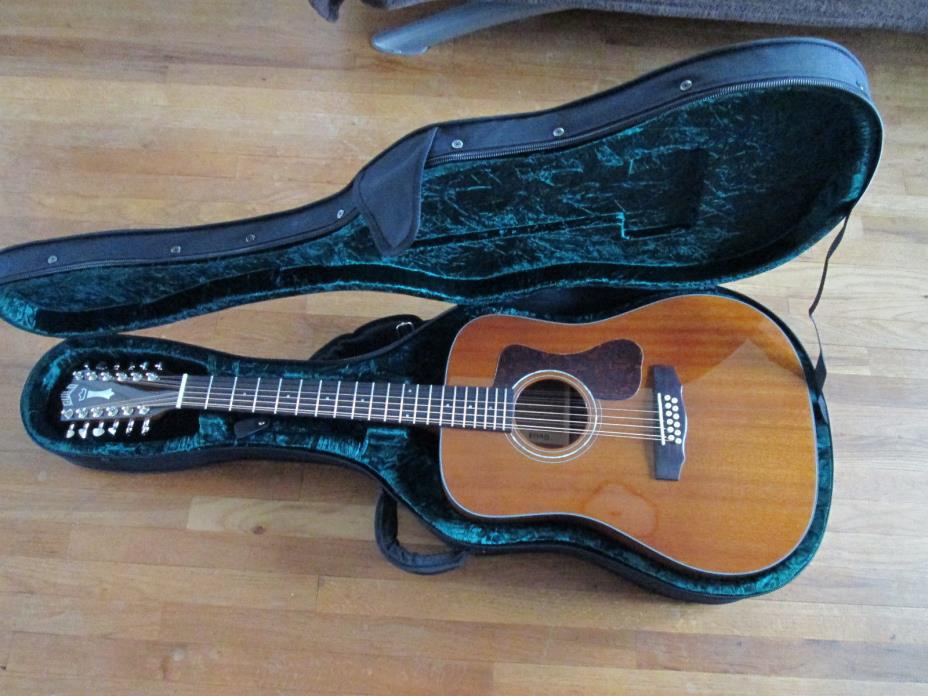 Guild D-1212 12 string acoustic guitar