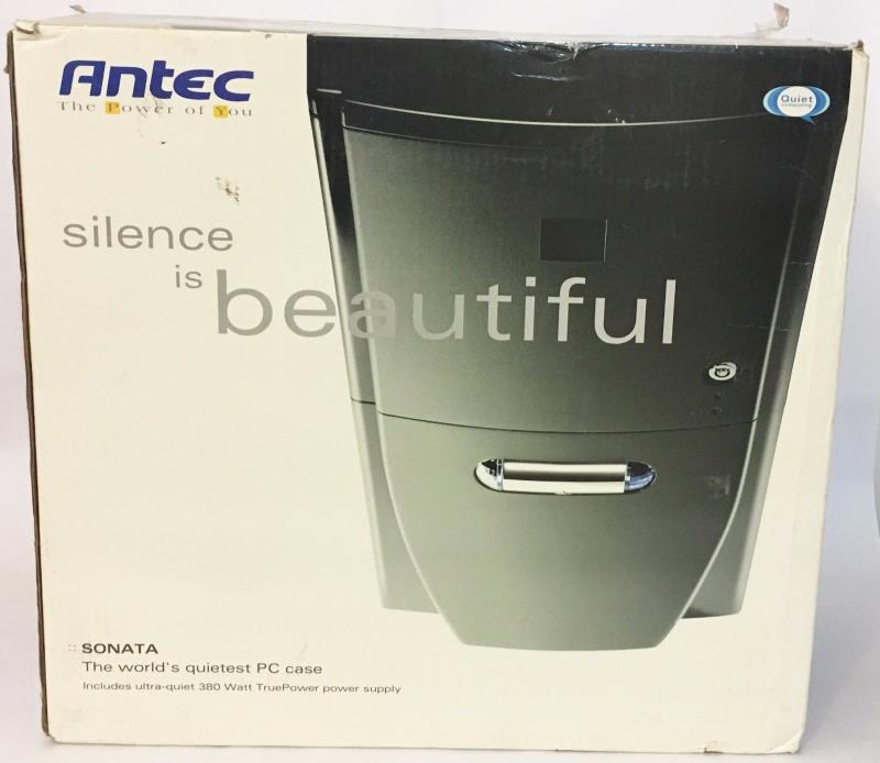 Brand New In Box Complete Antec Sonata Quiet PC Case w/ Ultra Quiet Power Supply