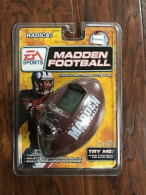Radica Madden Football - Throw Motion Handheld Electronic Game EA Sports
