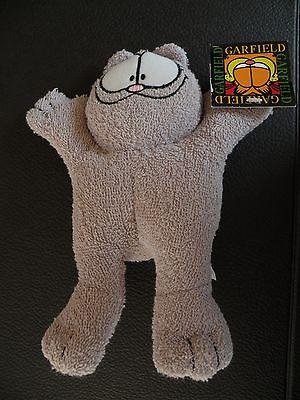 2001 Squeezimals Garfield Plush Bath Toy Nermel