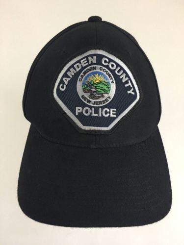 CAMDEN COUNTY, New Jersey Black Flexfit Police Baseball Cap