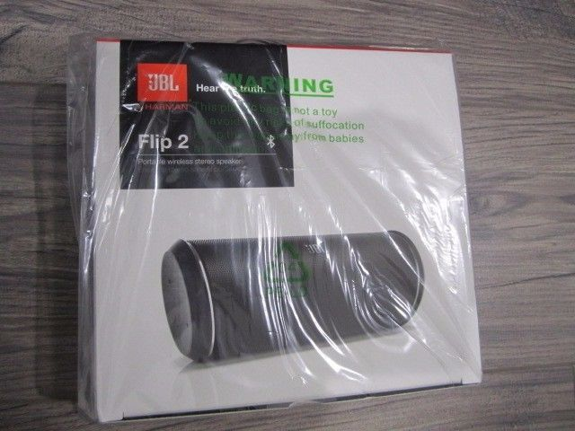 JBL Flip 2 Harman wireless Bluetooth Stereo Portable Speaker NEW SEALED