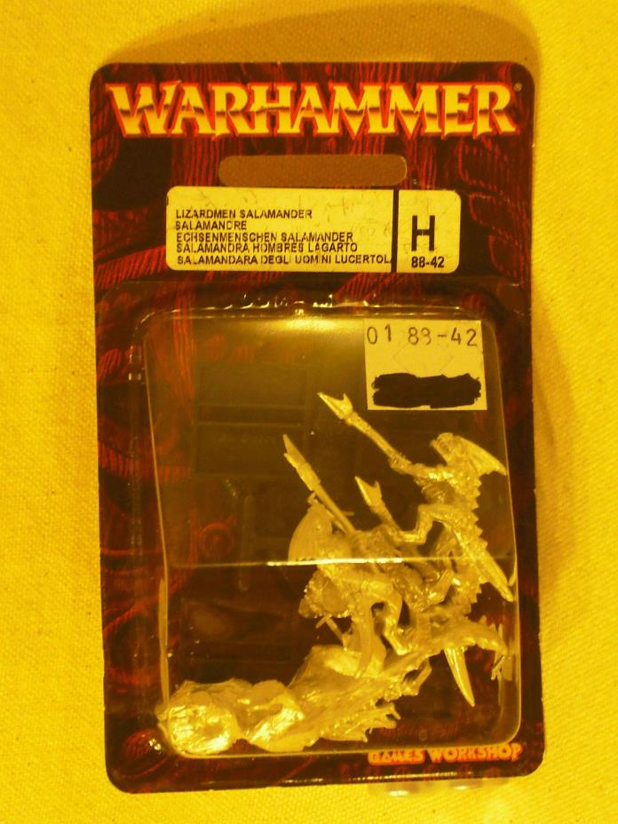 Warhammer Age of Sigmar Lizardmen Salamander Hunting Party (88-42) NIB