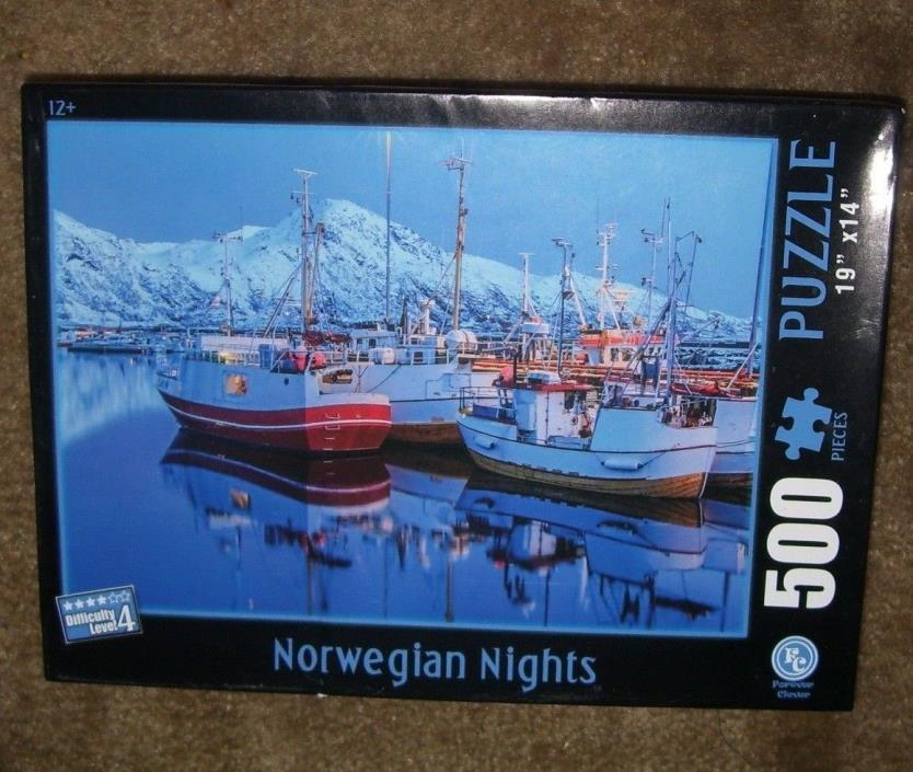 NORWEGIAN NIGHTS 500 PC~JIGSAW PUZZLE~ 19