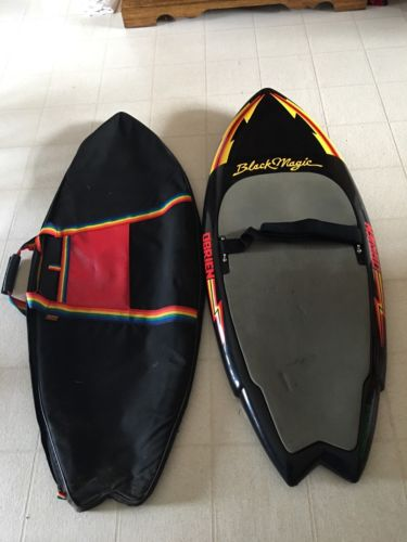 O'brien Black Magic Knee Board With Case