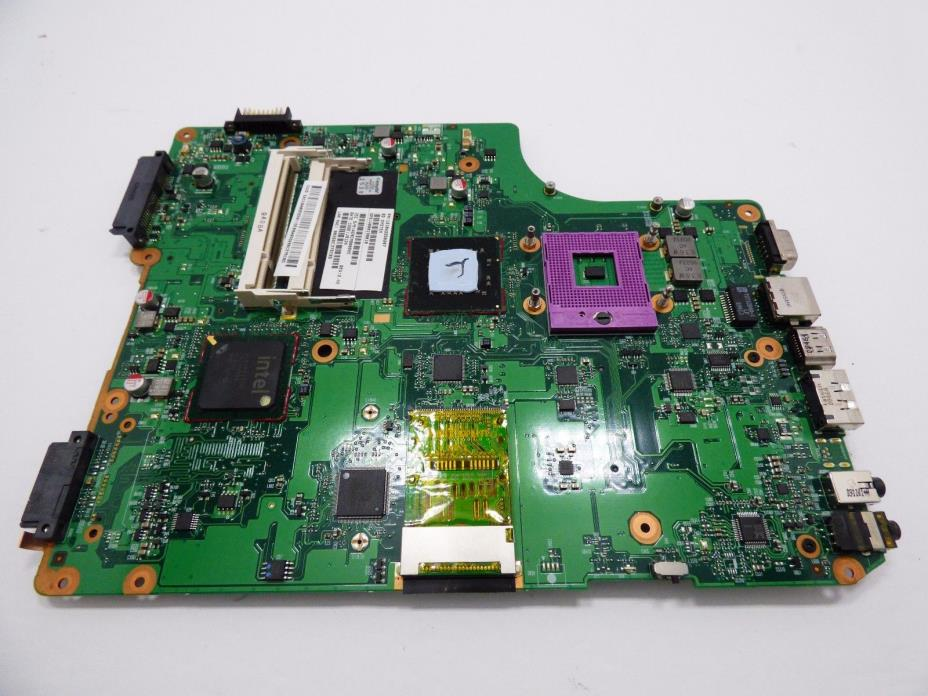 Toshiba Satellite A505 Laptop Motherboard with CPU V000198010 SH1