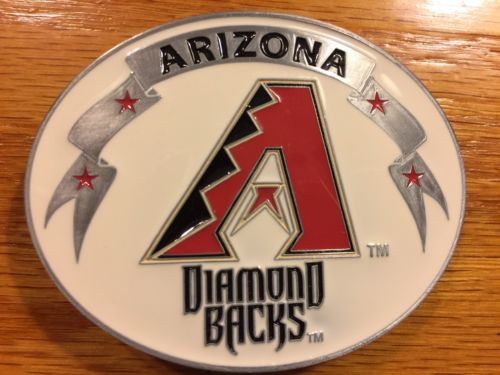 ARIZONA DIAMOND BACKS BELT BUCKLE