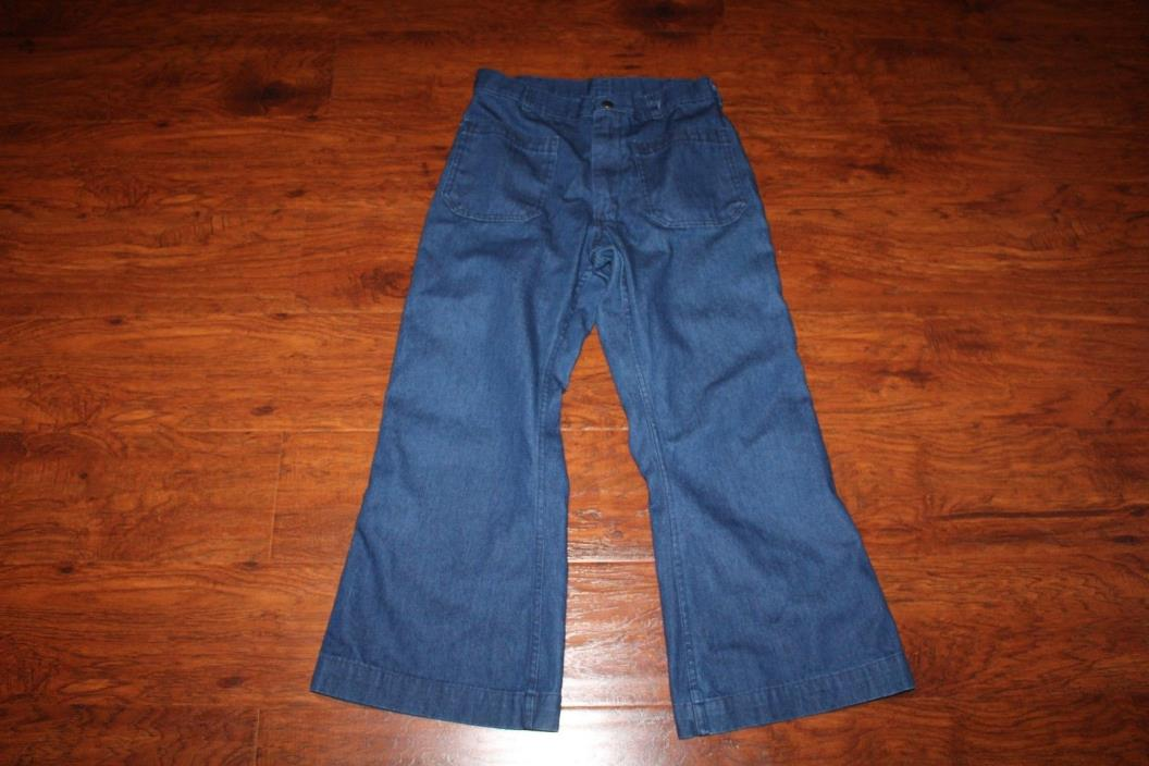Vintage US Navy Dungarees Mens Uniform Utility Trousers Denim Pants 32/28 Jeans