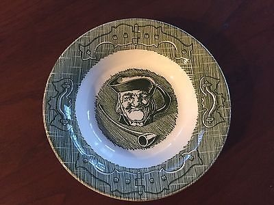 4 Fruit/Dessert (Sauce) Bowl in The Old Curiosity Shop (Green) by Royal (USA)