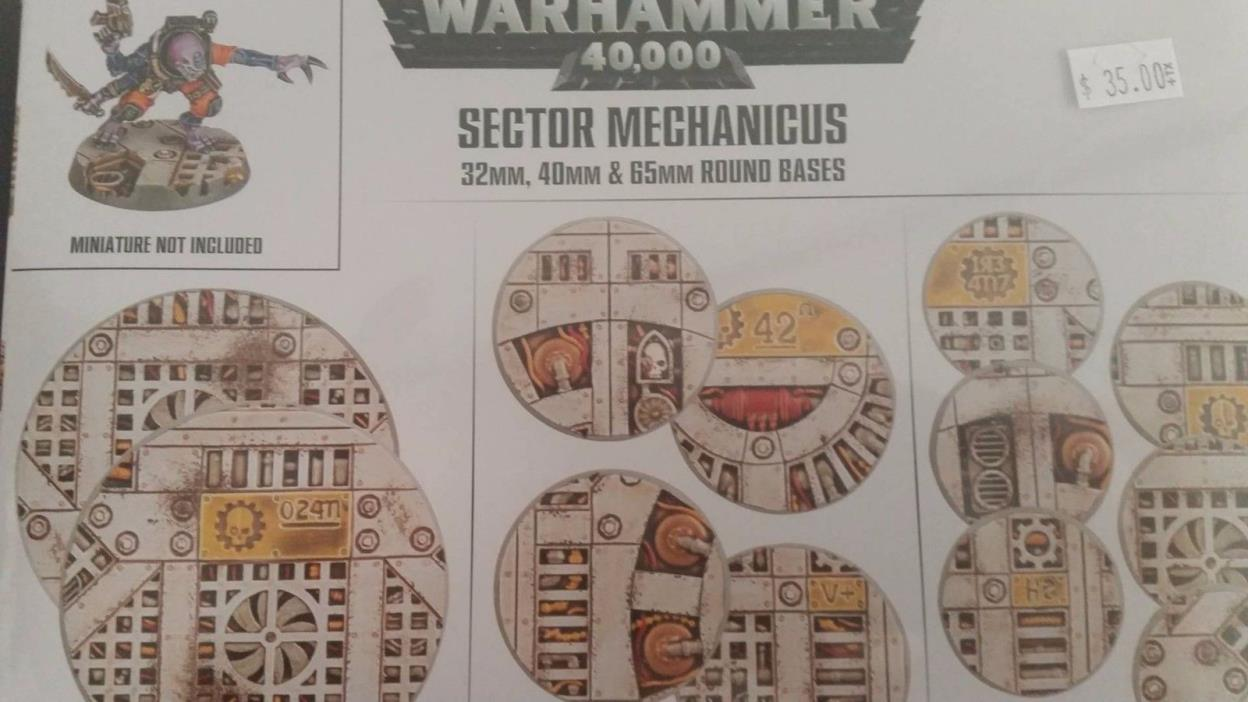 Warhammer 40K Shadow War Armageddon SECTOR MECHANICUS INDUSTRIAL BASES