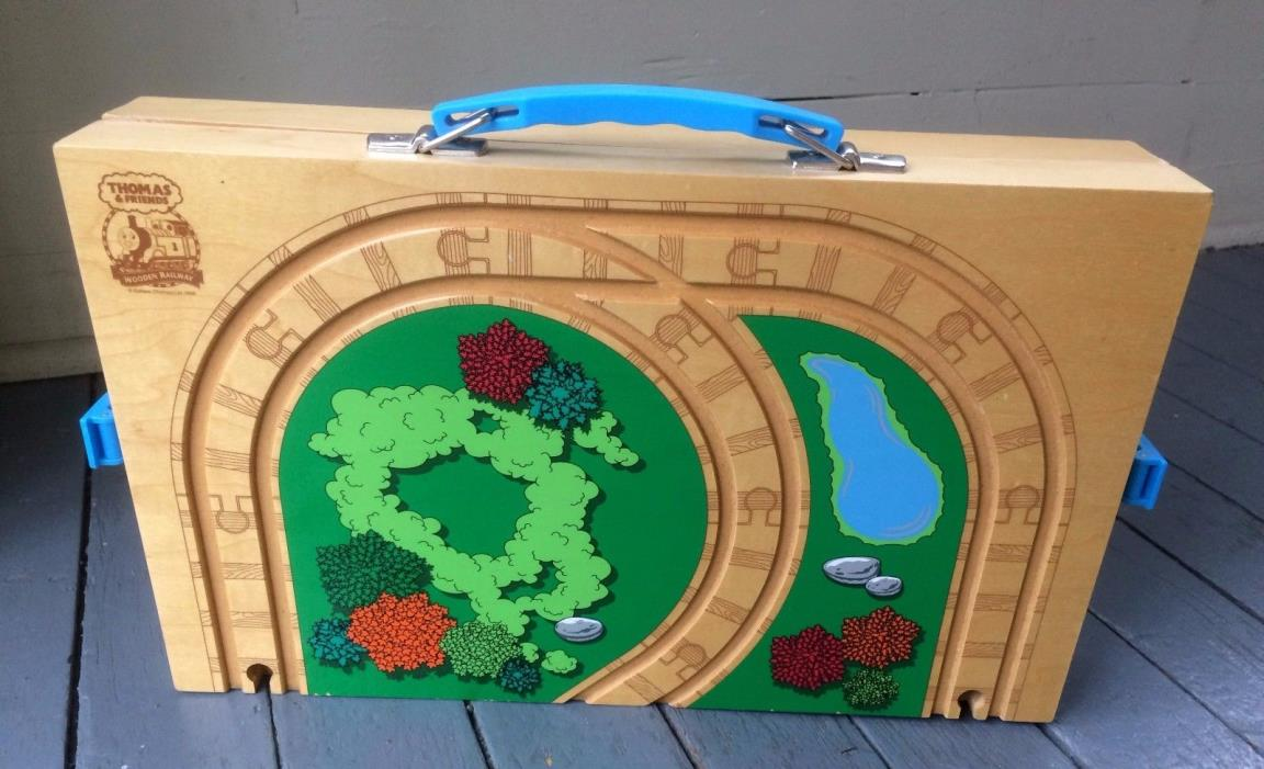 Thomas & Friends Wooden Train Carrying Case - Play & Go - Storage Travel
