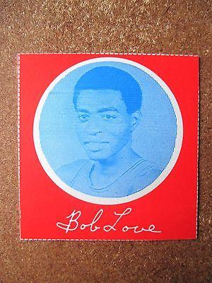 1970/71 Hawthorn Dairy Milk Carton Card Bob Love Chicago Bulls RARE Southern