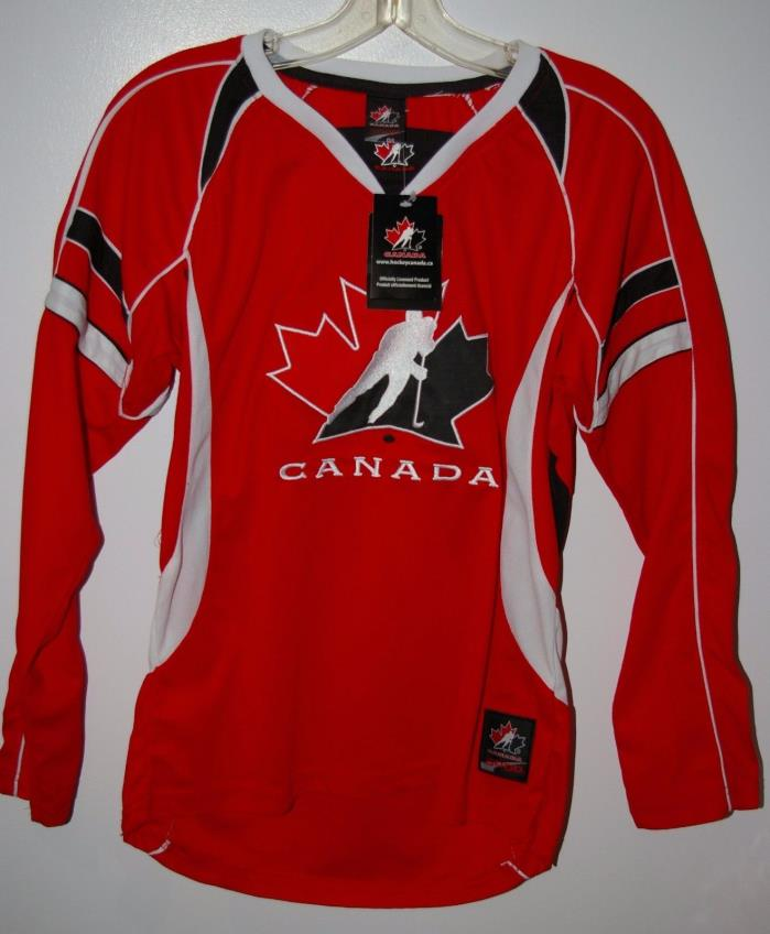 Team Canada Hockey Jersey Sweater NOS