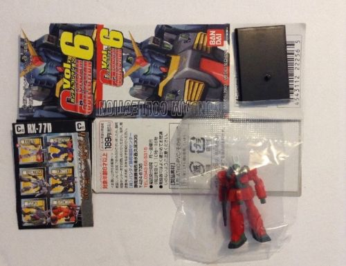 Bandai Vol. 6 1/400 RX-77D Guncannon yellow 01 and insignia On Left Shoulder