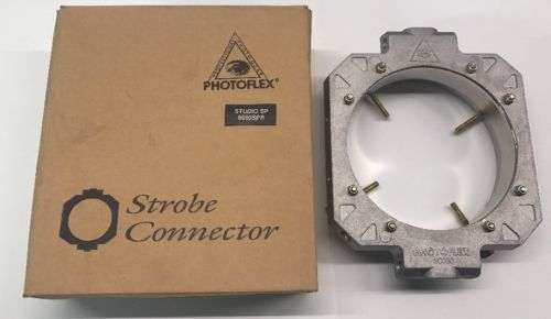 Photoflex 800SC Speed Ring For Studio SP 8060SPR Soft Boxes & Strips. Ex.