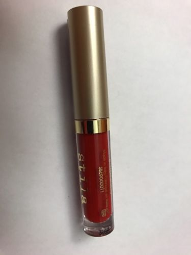 New STILA Stay All Day Liquid Lipstick BESO True Red DELUXE MINI 0.05oz