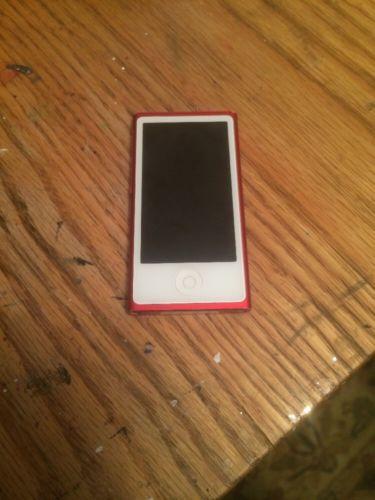 iPod Nano 7th Generation Red  Still Works