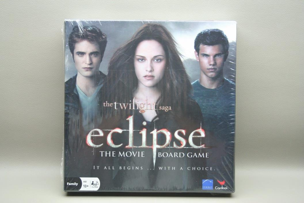 The Twilight Saga ECLIPSE movie board game NEW Family Board Game Vampire Wolves