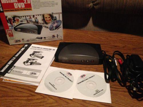 ADS Tech DVD Xpress USBAV-702 Rev A Instant DVD 2.0