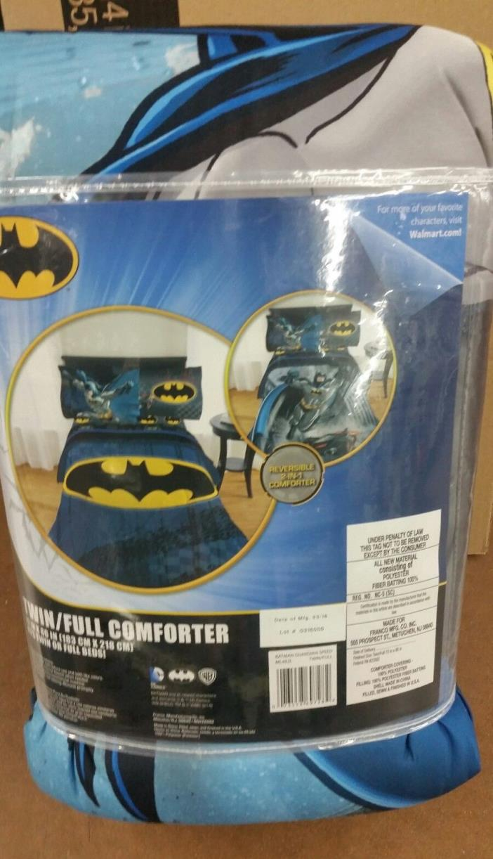 Batman Justice League Twin/Single Size Comforter