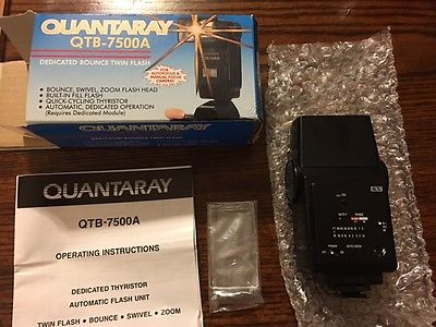 Quantaray QTB-7500A Shoe Mount Flash