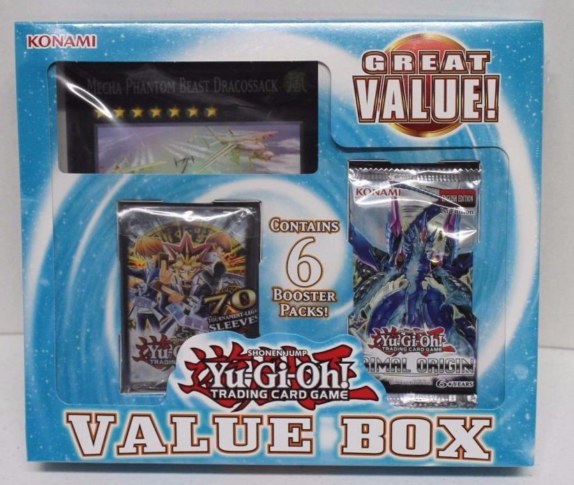 Yu-Gi-Oh Zexal era Value Box - New Sealed - Ships Free