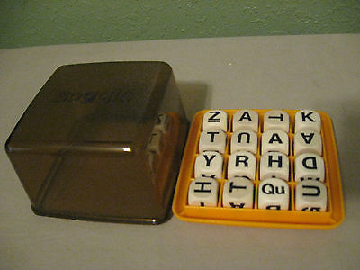 Vintage 1976 BOGGLE Wooden Cubes Replacement Parts