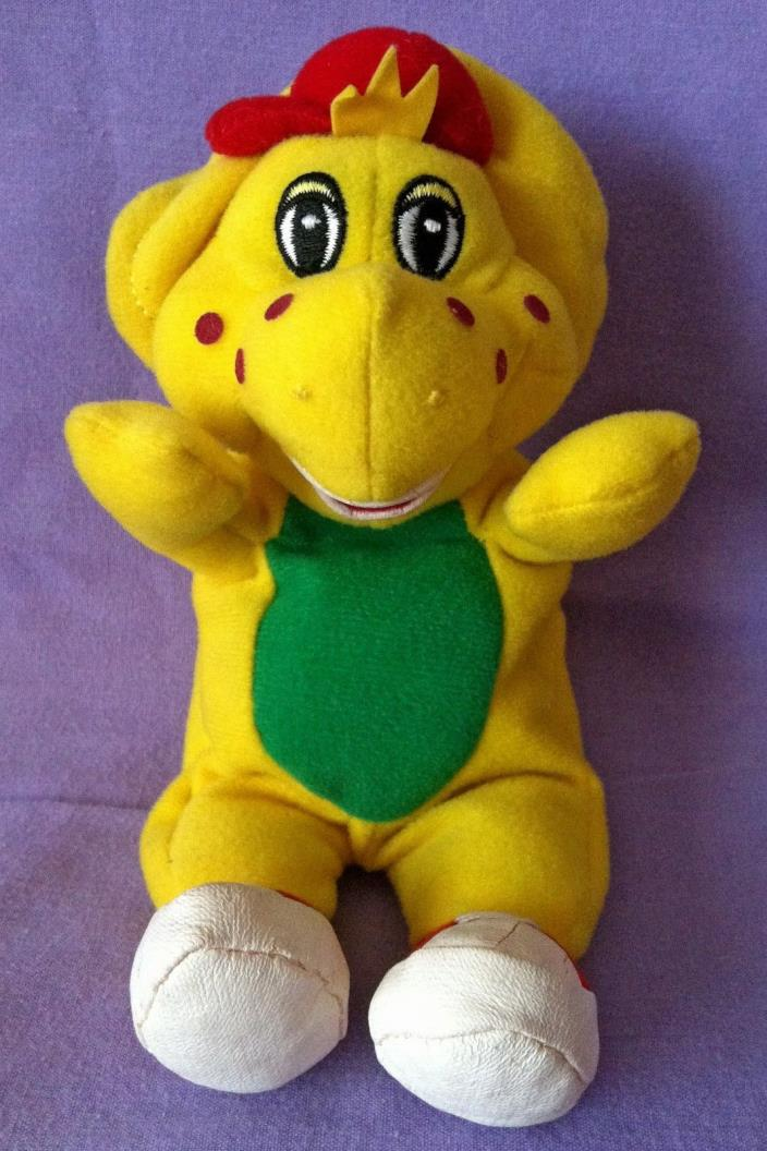 Barney BJ Yellow Dinosaur Plush 7 1/2
