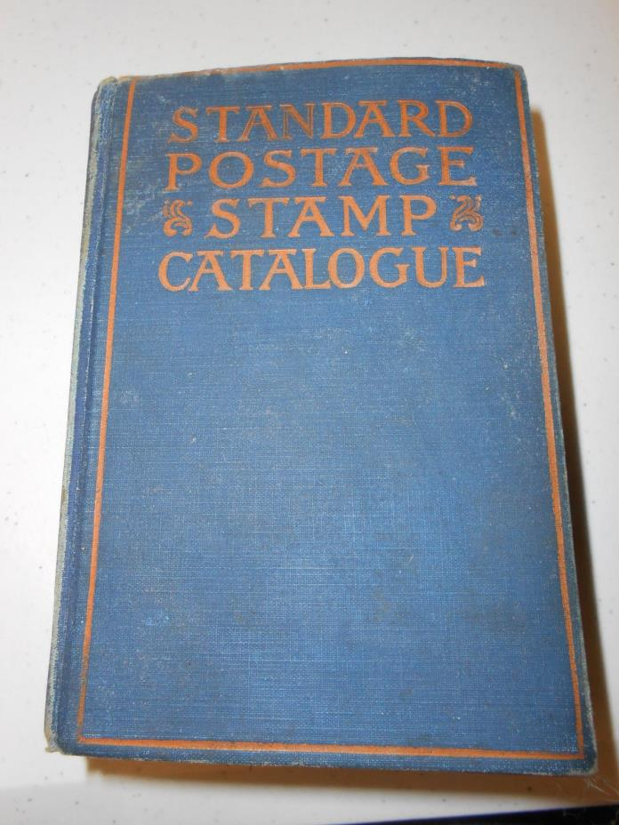SCOTT Stamp  &  Coin  Co 1925 !  CATALOG Catalogue !!  in  NICE  Usable  Shape !