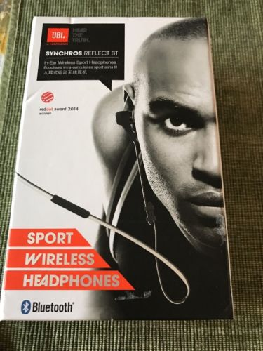 Original JBL Synchros Reflect BT Wireless Sport JBLREFLECTBT *No Power Cable*