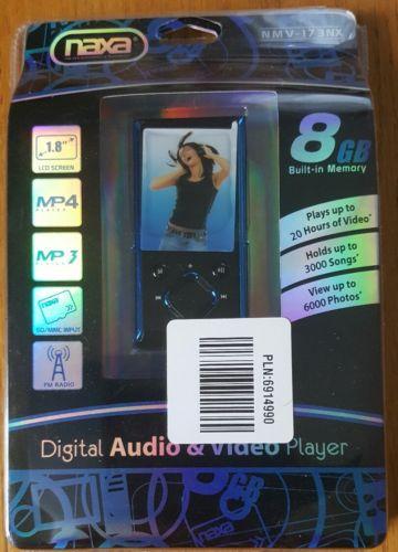 naxa digital audio and video player