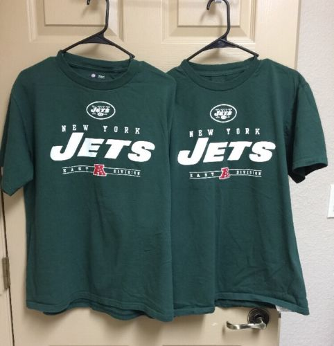 Lot Of 2 New York Jets T-Shirt Medium