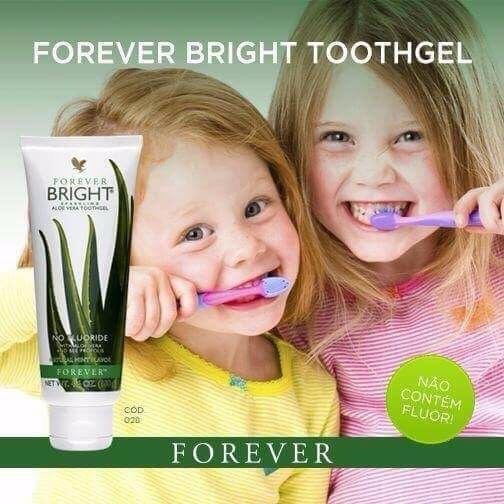 Forever Bright Toothgel Forever Living Products NET WT. 4.6 oz Pasta Dental