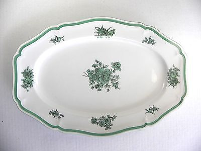 Vintage Rosenthal Chippendale Platter Green Blume 13