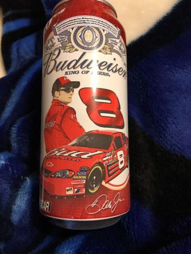 Budweiser Dale Earnhardt Jr. 16 oz Beer Can